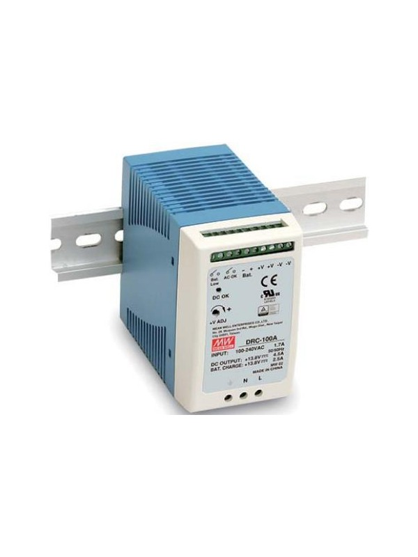 DRC-100A Zasilacz 100W 13.8V 7A. 13.8V 2.5A