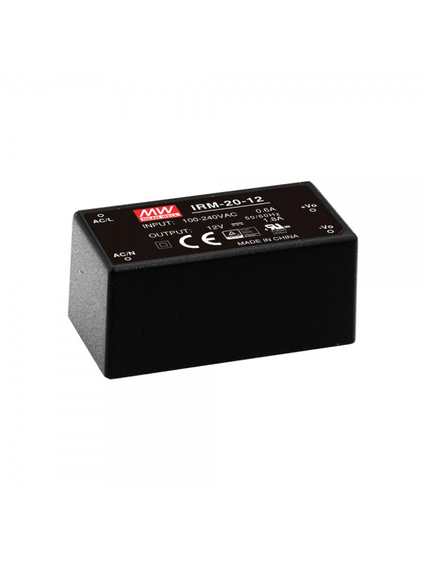 IRM-20-3.3 Moduł AC/DC 20W 3.3V 4.5A