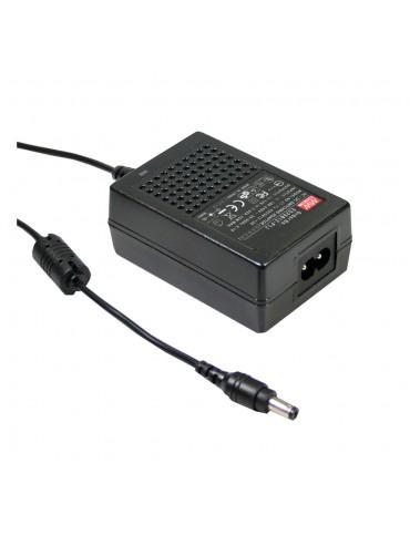 GS18B12-P1J Zasilacz desktop 18W 12V 1.5A