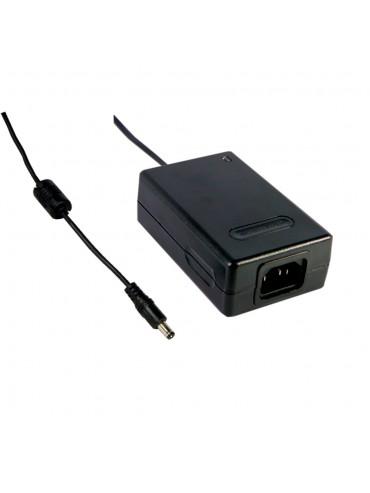 MES30A-3P1J Zasilacz desktop 30W 12V 2.5A