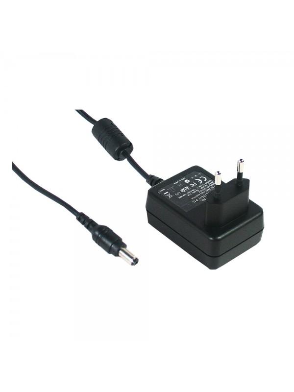 GS12E07-P1I Zasilacz wtyczkowy EU 12W 7.5V 1.6A