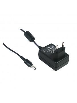 GS12E15-P1I Zasilacz wtyczkowy EU 12W 15V 0.8A