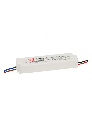 LPL-18-12 Zasilacz LED 18W 12V 1.5A