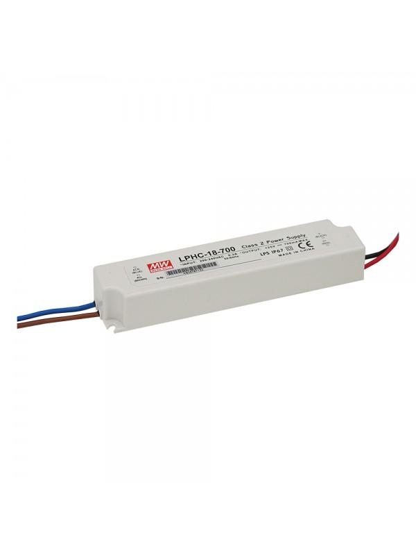 LPLC-18-700 Zasilacz LED 18W 6~25V 0.7A