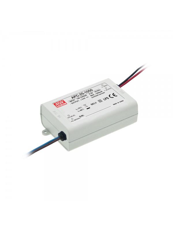 APC-25-350 Zasilacz LED 25W 25~70V 0.35A