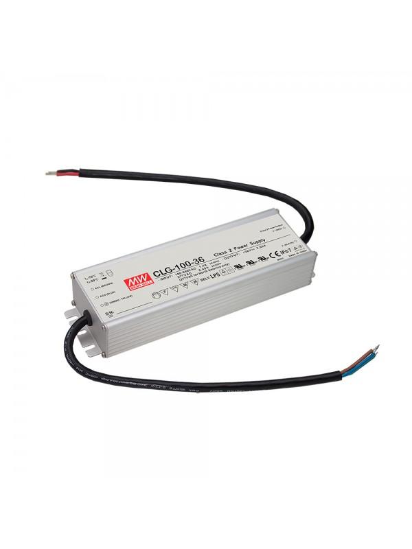 CLG-100-36 Zasilacz LED 96W 36V 2.65A