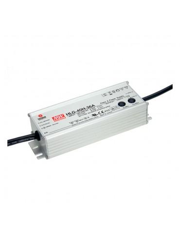 HLG-40H-42 Zasilacz LED 40W 42V 0.96A