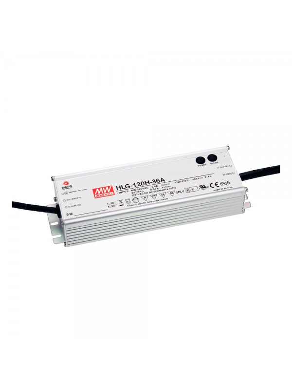 HLG-120H-15 Zasilacz LED 120W 15V 8A