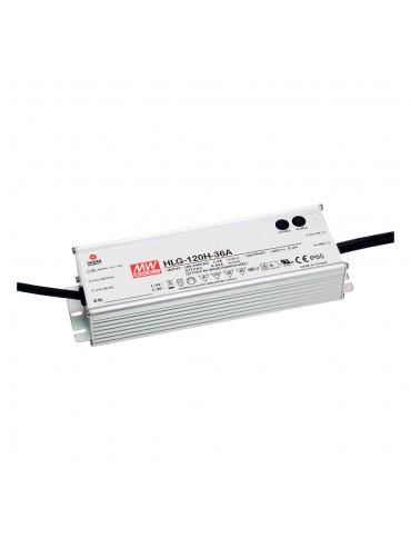 HLG-120H-C350A Zasilacz LED 150W 215~430V 0.35A