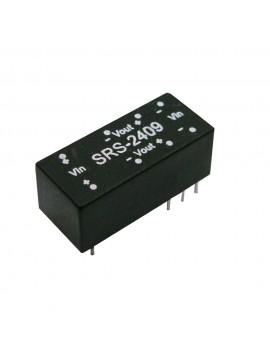 SRS-2415 Moduł DC/DC 0.5W 24V±10%/ 15V 0.034A