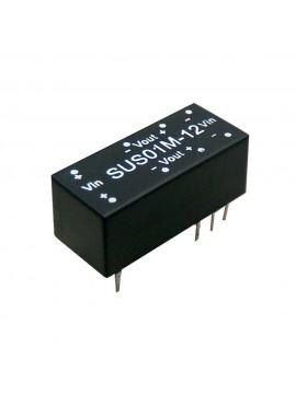 SUS01O-05 Moduł DC/DC 1W 48V±10%/ 5V 0.2A