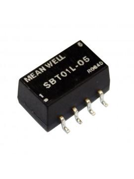 SBT01L-12 Moduł DC/DC 1W 5V±10%/ 12V 0.084A
