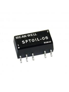 SFT01M-05 Moduł DC/DC 1W 12V±10%/ 5V 0.2A