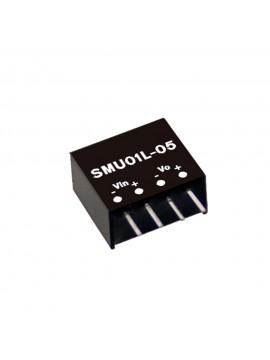 SMU01M-12 Moduł DC/DC 1W 12V±10%/ 12V 0.084A