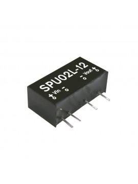 SPU02M-05 Moduł DC/DC 2W 12V±10%/ 5V 0.4A