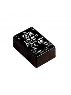 DCW05A-15 Moduł DC/DC 5W 9~18V/ ±15V ±0.19A