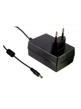 GSC25E-1400 Zasilacz wtyczkowy EU 9-18V 0.35A