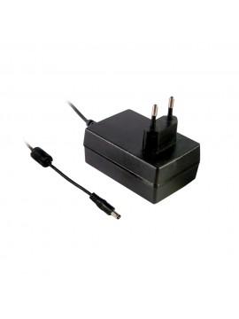 GSM18E24-P1J Zasilacz wtyczkowy 18W 24V 0.75A