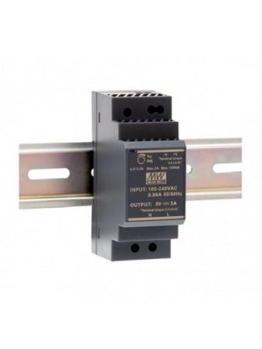 HDR-30-24 Zasilacz na szynę DIN 30W 24V 1.5A