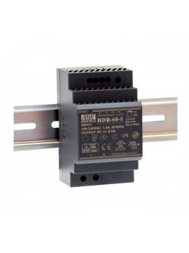 HDR-60-15 Zasilacz na szynę DIN 60W 15V 4A