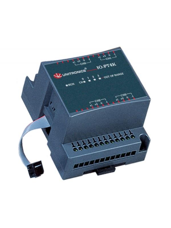 IO-PT4K Moduł 4 wejść temperaturowych PT1000