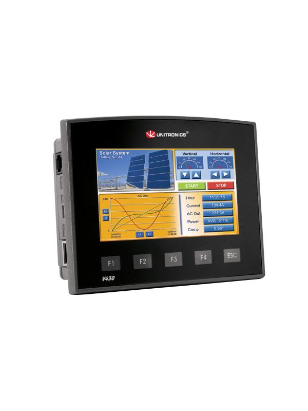 V430-J-TA24 Sterownik PLC graficzny 4