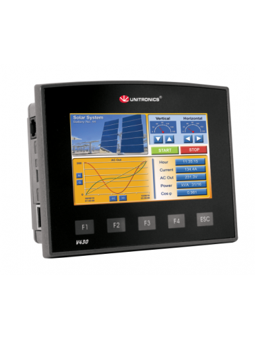 V430-J-TR34 Sterownik PLC graficzny 4