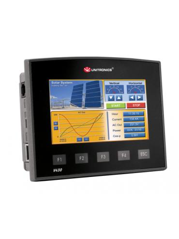 V430-J-TRA22 Sterownik PLC graficzny 4