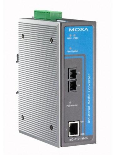 IMC-P101-S-SC-T konwerter Ethernet-światłowód PoE Singlemode SC