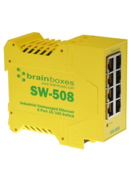 SW-508 Niezarządzalny switch ethernetowy 8xRJ45