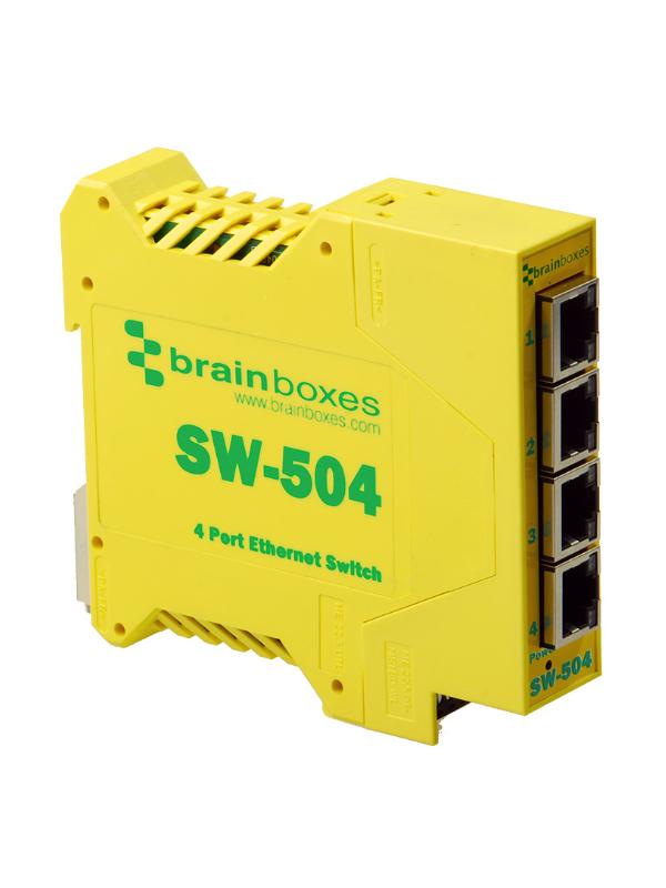 SW-504 Niezarządzalny switch ethernetowy 4xRJ45