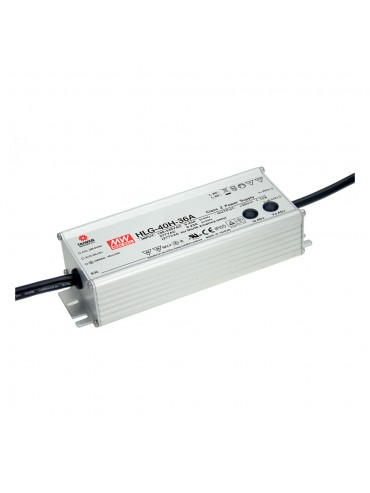HLG-40H-12AB Zasilacz LED 40W 12V 3.33A