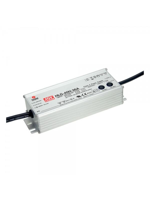 HLG-40H-36AB Zasilacz LED 40W 36V 1.12A