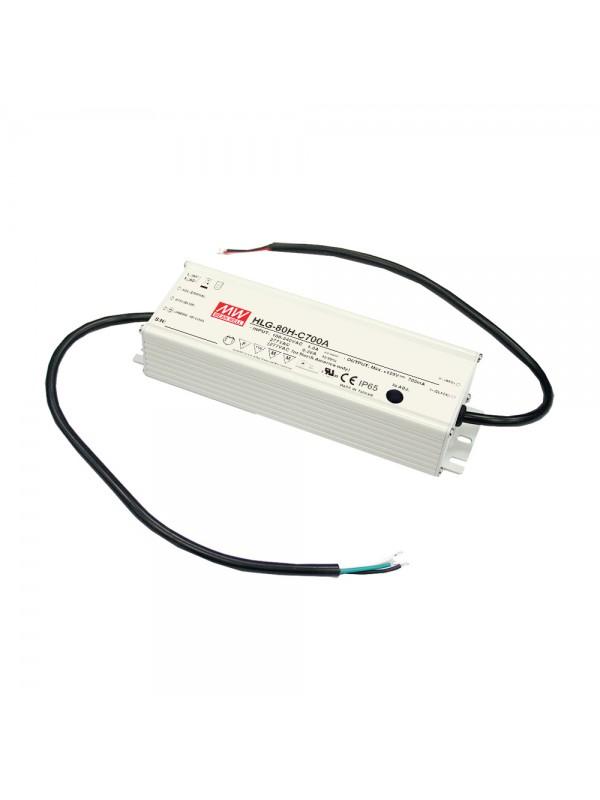 HLG-80H-12AB Zasilacz LED 80W 12V 5A