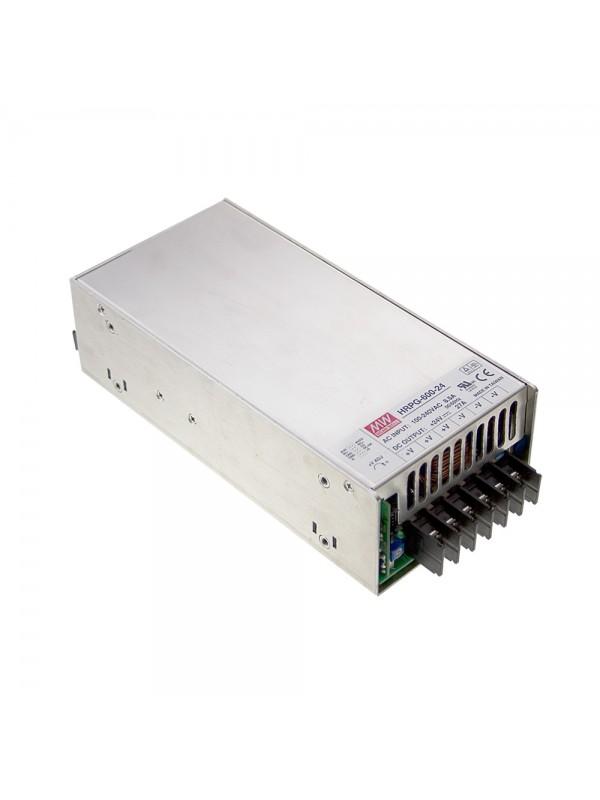HRPG-600-24 Zasilacz impulsowy 600W 24V 27A