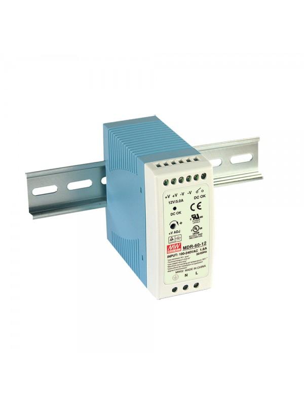 MDR-60-24 Zasilacz na szynę DIN 60W 24V 2.5A