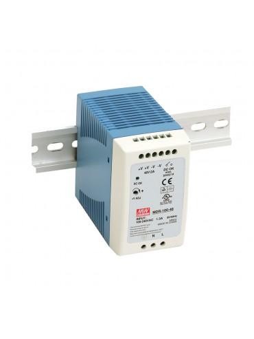 MDR-100-12 Zasilacz na szynę DIN 100W 12V 7.5A