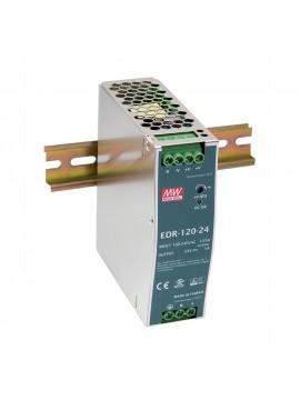 EDR-120-12 Zasilacz na szynę DIN 120W 12V 10A
