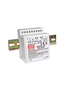 DR-4515 Zasilacz na szynę DIN 45W 15V 2.8A