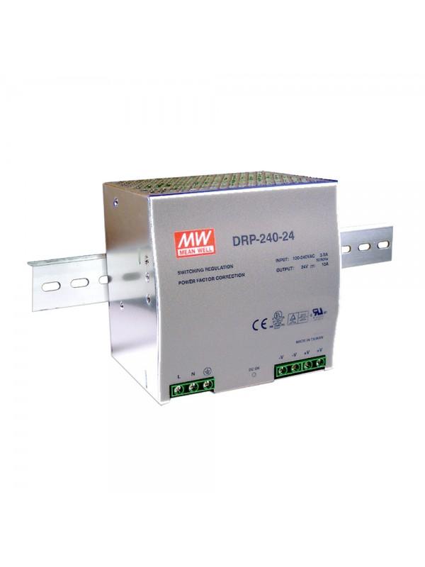 DRP-240-48 Zasilacz na szynę DIN 240W 48V 5A