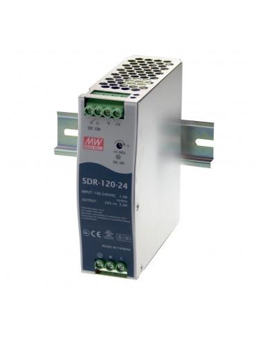 SDR-120-48 Zasilacz na szynę DIN 120W 48V 2.5A