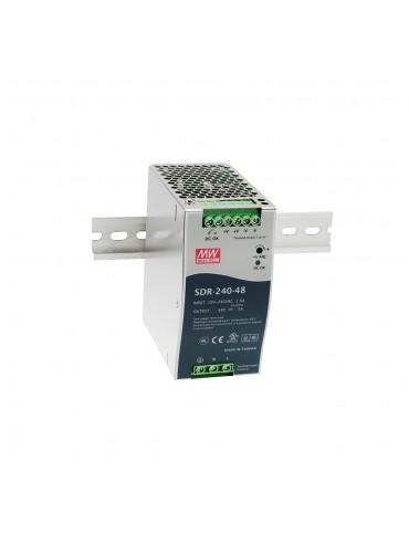 SDR-240-48 Zasilacz na szynę DIN 240W 48V 5A