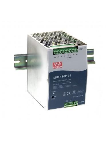 SDR-480P-48 Zasilacz na szynę DIN 480W 48V 10A