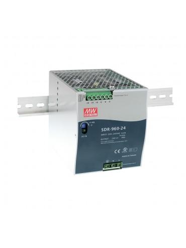 SDR-960-24 Zasilacz na szynę DIN 960W 24V 40A